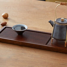 Multi-function home office ornament  Chinese Bamboo Gongfu Tea Table Serve Tray