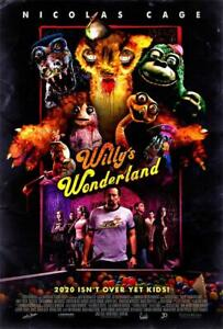 "Willy's Wonderland Movie Poster 40x27 36x24 30x20 18x12"" Art Decor Print"