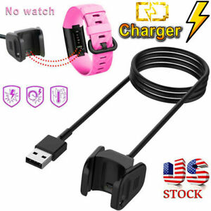 ONE Fitbit Charge 3  USB Charger Charging Cable Dock 1M/40''High Quality