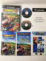 ✅Mario Kart: Double Dash w/ BONUS DISC (Nintendo GameCube)TESTED! !!!SEE PICS!!!