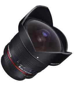 Samyang 8mm f/3.5 Aspherical CS Fisheye Lens for Sony A Mount - 200200
