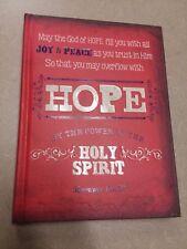 Blank Journal: Hope, Joy, Peace