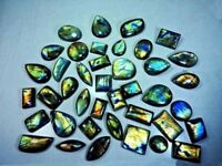 AA++ Natural Labradorite Golden Flash Mix Cabochon Loose Gemstone Wholesale Lot