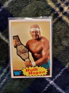 1985 Topps WWF #1 Hulk Hogan RC