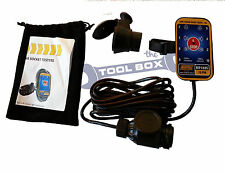 Towbar Socket Tester, For Testing 13 pin & 7 Pin Towing Electric / Towbar Wiring