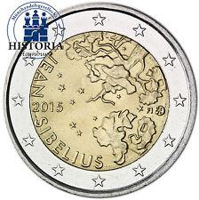 Finnland 2 Euro Gedenkmünze 2015 bfr. 150. Geburtstag Jean Sibelius