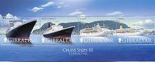 Gibilterra/Gibraltar 2007  BF 88 navi da crociera 3°serie   MNH