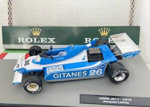 F1 Collection Fully Upgraded GITANES Ligier JS11 🇫🇷1979 Jacques Laffite Superb
