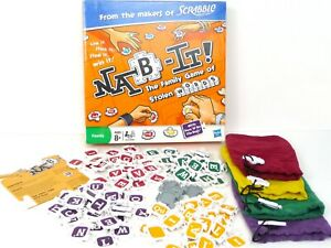 Spare Parts - NAB-IT THE FAMILY GAME OF STOLEN WORDS FROM THE MAKERS OF SCRABBLE