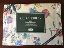 Vintage Laura Ashley Chinese Silk Floral Twin Size Fitted Bed Sheet New in Pkg