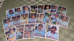 Texas Rangers 1975 SSPC Baseball Card Team Set of 21