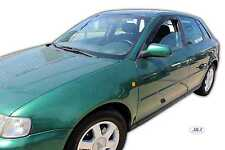 Audi A3 8L 5 door 1997-2003 Front wind deflectors 2pc set TINTED HEKO