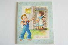 Vintage 1949 Unused Greeting Card Tommy Tucker Music Book