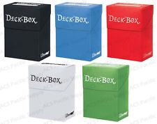 Ultra Pro Deck Box Combo Bulk Lot Black / Light Blue / Red / White / Light Green