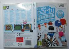 GREAT PARTY GAME NINTENDO WII EDIZIONE MULTILINGUA PAL