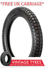 350-19 3.50-19 MOTORCYCLE ENSIGN TRIALS UNIVERSAL TYRE NEW 350X19 TRAILS ENFIELD