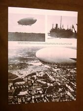 Anno 1928 Umberto Nobile e la trasvolata con il Dirigibile Italia La Partenza