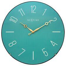 Nextime Horloge Murale à la Mode Dome O35cm Silencieux Rond Salon Cuisine