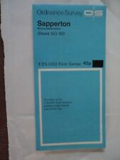 "Ordnance Survey 2.5"" Map SO90 Sapperton 1970 Daglingworth Duntisbourne Abbots"