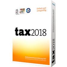 BUHL Data tax 2018 (für das Steuerjahr 2017)