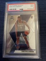 2019-20 Panini Mosaic ZION WILLIAMSON #209 RC Base Rookie Card PSA 9 MINT
