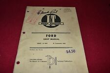 Ford 6000 Commander 6000 Tractor I&T Shop Manual SKCA