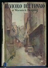 DEEPING WARWICK IL VICOLO DEL FUNAIO SALANI 1931 I° EDIZ. 16