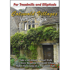 COTSWOLD VILLAGES WALK VOL 2 TREADMILL SCENERY DVD - WEIGHT LOSS FITNESS VIDEO