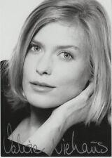 Valerie Niehaus ORIGINALE AUTOGRAFO firmato su carta (motivo RARO)
