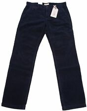Mac jeans Lenny señores Kord pantalones Men Cord Pants w33 l34 Modern fit chino Navy