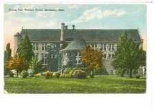 Ansichtskarte - Sandusky, Ohio - Soldiers Home - Dining Hall -Soldatenunterkunft