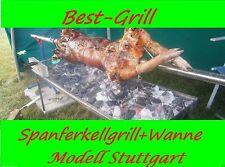 BEST-GRILL - XL Spanferkelgrill, Lammgrill ,Edelstahlwanne 115 cm 70 cm Hoch