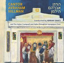 Cantor Chazan Avraham Hillman Chazanut Jewish Liturgical Music CD
