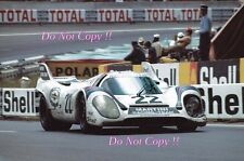 Marko & Van Lennep Martini Porsche 917K Winners Le Mans 1971 Photograph 12