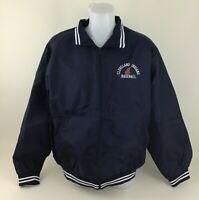 Cleveland Indians Majestic Baseball Jacket Coat Genuine Size XL Mint Vintage 90s