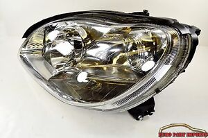 Mercedes-Benz W220 Left Side Headlight Halogen Genuine Germany OEM 2208204161