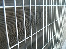 Welded Wire Mesh Panel 8x4ft 2.4 x 1.2m Galvanised Steel Sheet 75x25mm Holes 12g