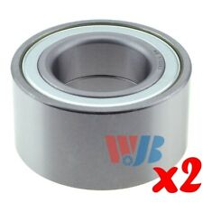 Pair of 2 New Front Wheel Bearing WJB WB510093 Cross 510093 WB000014 FW55