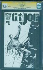 G.I. Joe 1 CGC SS 9.6 Silent Issue 21 Snake Eyes Original art sketch 2018 Movie