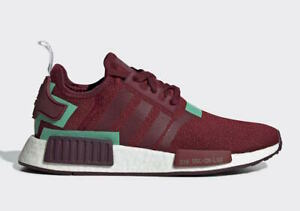 Adidas NMD R1 Women's Running Shoes (Size 6.5) Burgundy BD8007