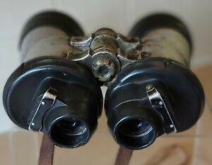 Zeiss 7x50 blc Kriegsmarine Binoculars,  U Boat WWII Germany, 1942/43. 47276