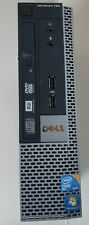 PC DELL OPTIPLEX 780 WINDOWS 10 DIQUE DUR 250GB 2,5 MEMOIRE X 2 DDR3 2G