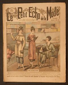 'ECHO DE LA MODE' FRENCH VINTAGE NEWSPAPER  11 MAY 1919