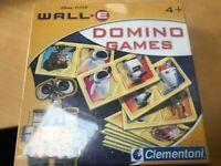🔥Clementoni Disney Pixar Wall-e Domino Games New & Sealed 4+
