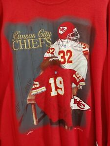 Vintage Kansas City Chiefs Football Sweatshirt XL embroidered 1994