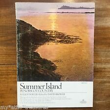 SUMMER ISLAND by Eliot Porter 1966/1976 Penobscot Bay MAINE Isle Land Sea LIFE