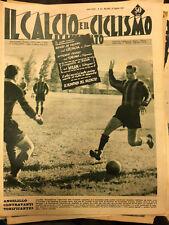 Il calcio e il ciclismo illustrato 1957 N°35 GENOA,TORINO,OLIMPIADI23/6