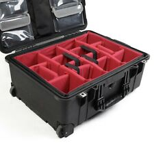 Padded divider set to fit Pelican1560 Case no case no lid org.