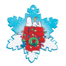 Snoopy Christmas Snowflake Cake Topper Woodstock Peanuts Decorations