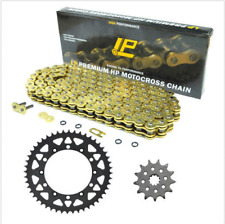 520 50/13T for Honda CRF450R CRF450X  Front & Rear Carbon Sprocket Chain Kit